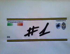 fascia da capitano - fascia calcio da capitano personalizzata con logo della squadra, anche pezzi singoli